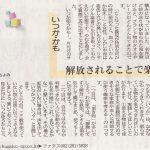 【中国新聞連載】~モノとココロの整理術2 いつかかもから解放~